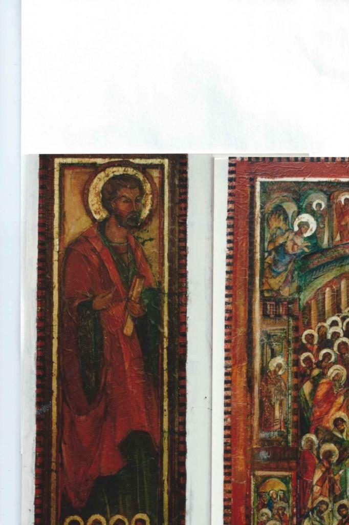 Andrzej Wawrzyniak 3 iconen schilderen