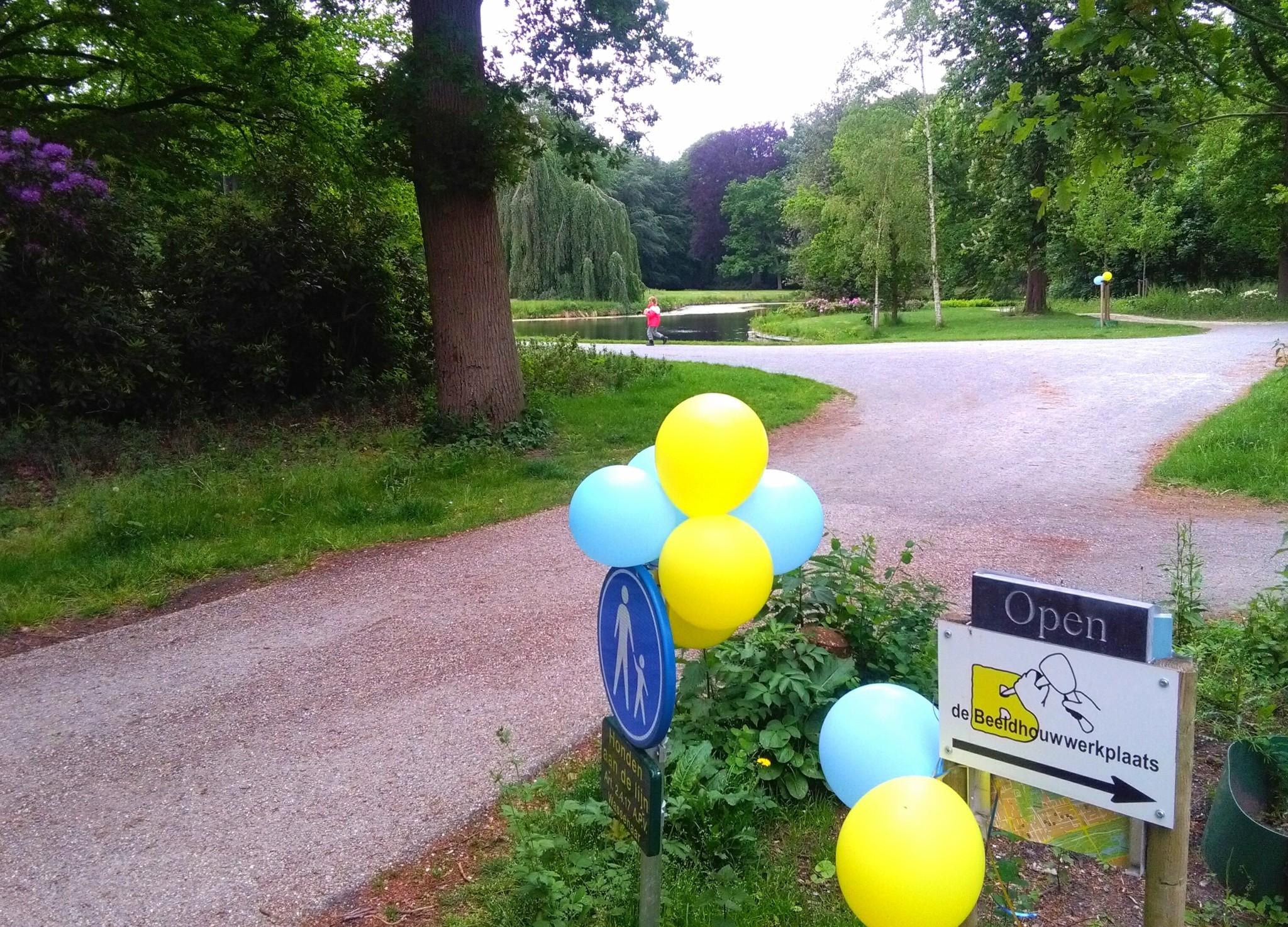 Op bezoek bij Frank Durand tijdens de Open Atelier dagen in Benoordenhout