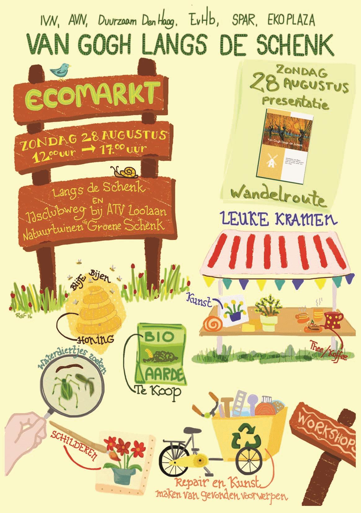 EKO markt Groene Schenk een succes