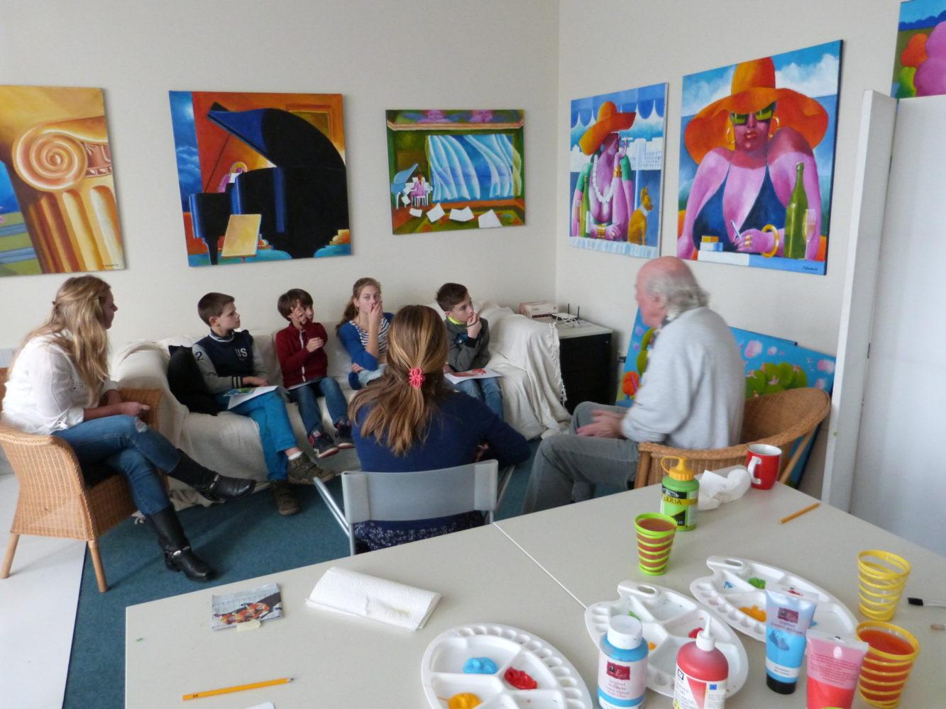 Open Atelierroute voor scholen