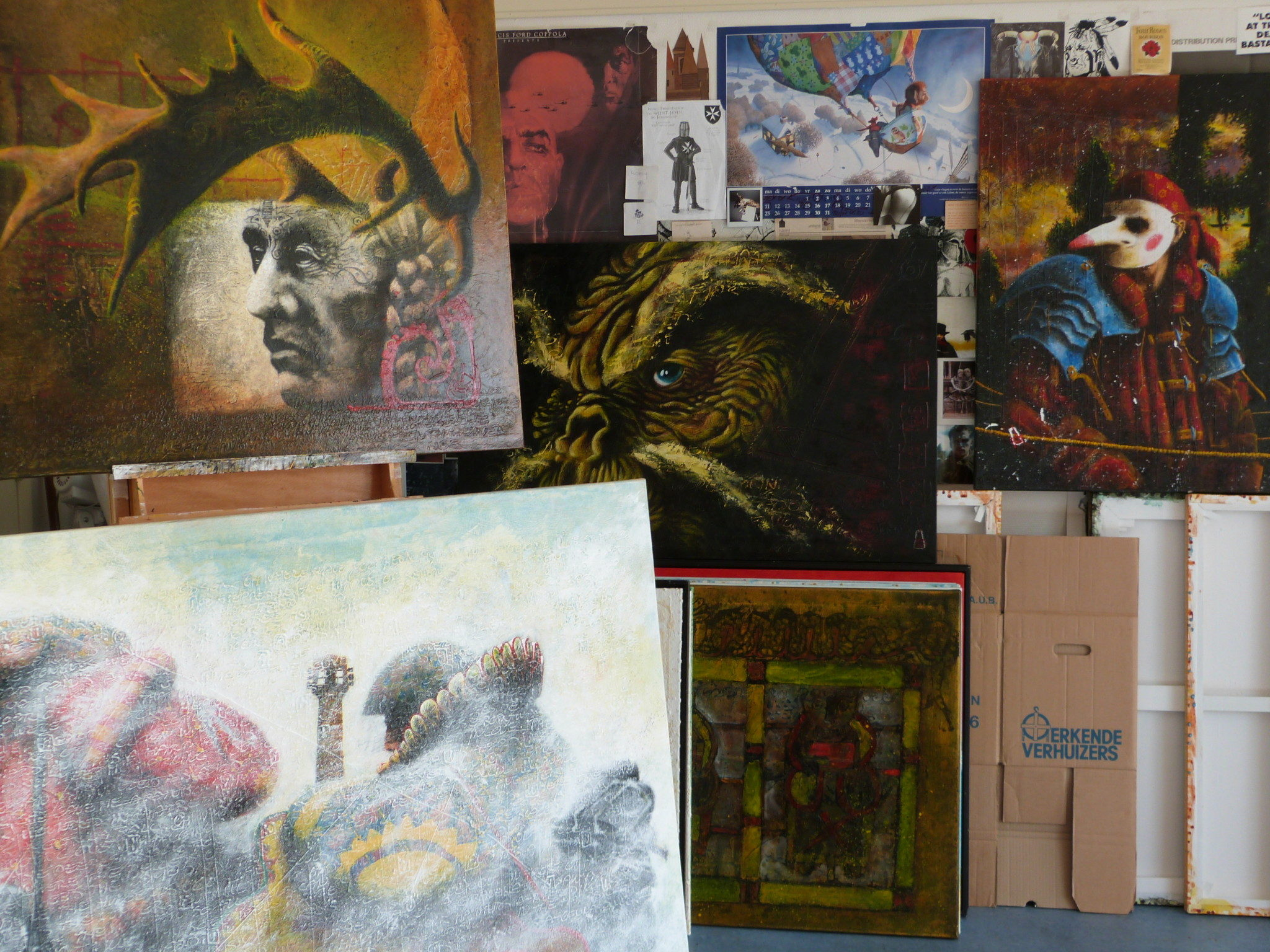 Open Atelierroute Haagse Hout 2016