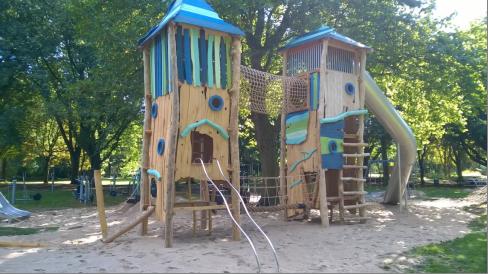 Opening nieuw speelpark in De Horst