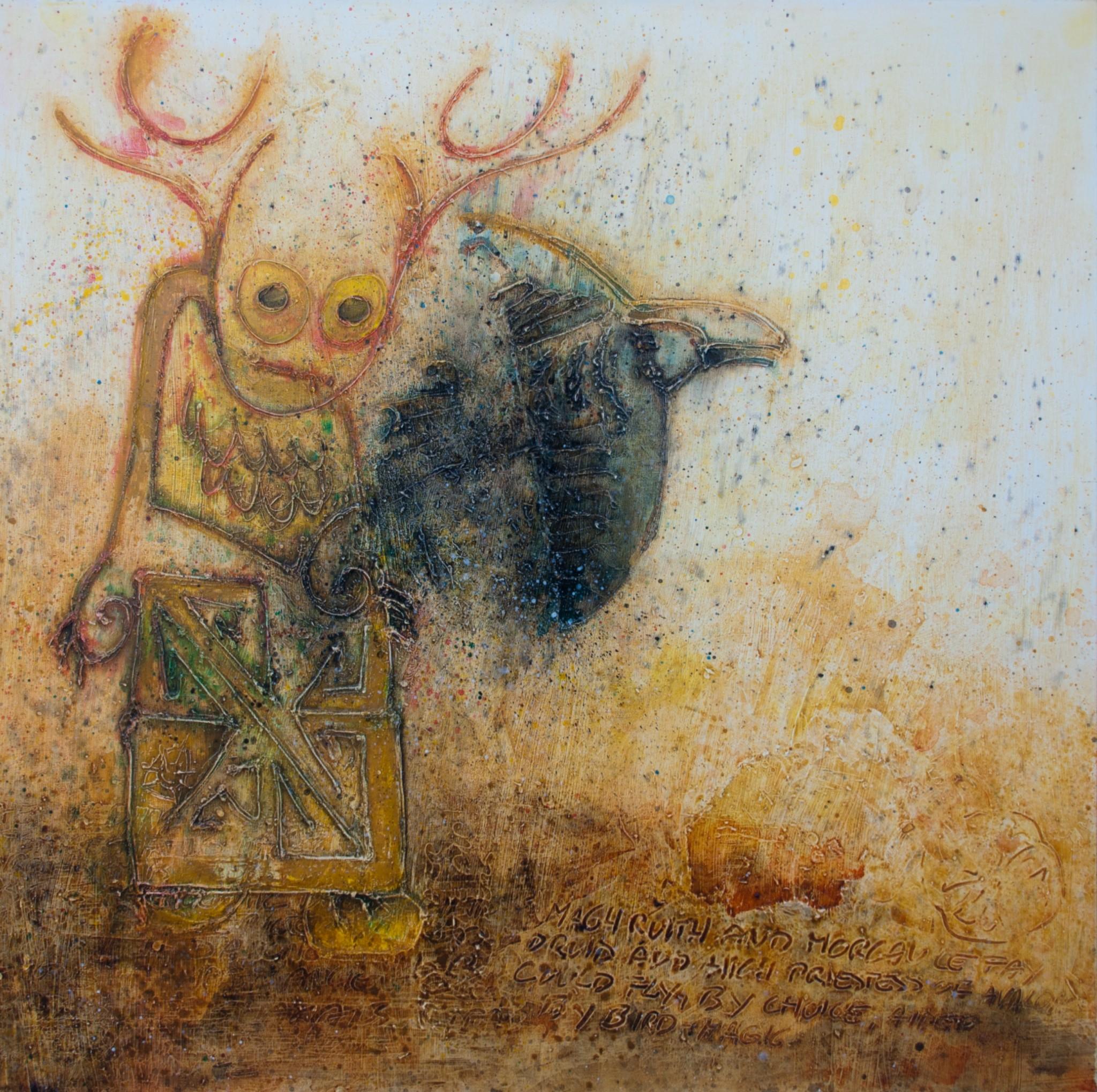Hans Spinnler - Bird fom belly