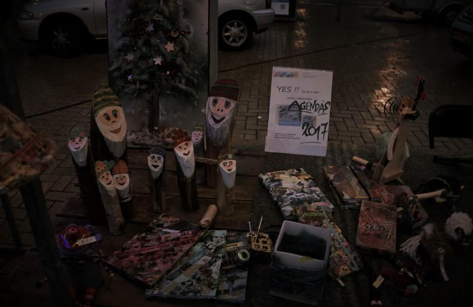 Sfeerimpressie kerstmarkt Stuyvesantplein 2016