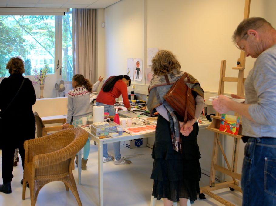2018 Open atelierroute kunstpost lookatie364; foto marcel bourret, atelier arnold van der spa