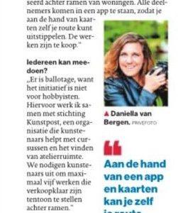2020-05-20 Even bijpraten met Daniella van Bergen AD-HC kunstpost #quarantainekunst.nl lookatie364 dvbfoto